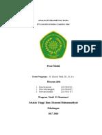 Analisi Fundamental Pada PT GOLDEN.