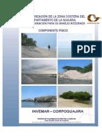 caracterización de la zona costera del departamento de la Guajira