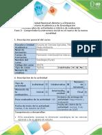 Guía de actividades y rúbrica de evaluación - Fase 3 - Comprender la estructura social en el marco de la nueva ruralidad.pdf