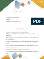 Estructura de La Entrevista.