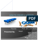How to Create a Website Presentation