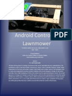 Android Controlled Lawnmower-Report