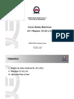 Analisis de circuito RC, RL y RLC