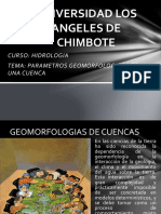 HIDROLOGIA CLASE 3 Parametros de una cuenca.pptx