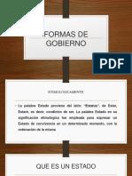FORMAS DE GOBIERNO ...pptx