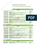 Programação WBD2019
