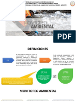 Monitoreo Ambiental Et