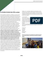 En Colombia El Hambre Tiene Rostro y Paisaje