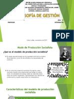 modelo de produccion capitalista y socialista