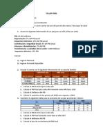 Taller Macroeconomía Poli 2019 - 2