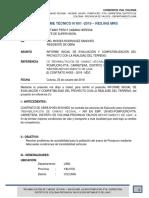 Informe de Compatibilidad de Campo