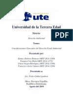 Derecho Penal Ambiental en República Dominicana