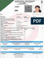 RRB Ntpc Regis Applicatin