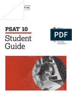 PDF Official Student Guide Psat 10