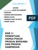 BAB 11 Harga Pokok Produk Bersama Dan Sampingan (Ppt)