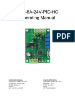 TEC-8A-24V-PID-HC Operating Manual
