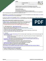 BLS CAN10Toronto PassportRe Issue Checklist