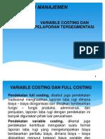PPT Variable Costing Dan Pelaporan Tersegmentasi