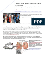 Nano Particle Pollution and Heart Disease Guardian July 2019