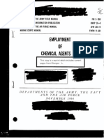 """US Army Field Manual FM 3-10B """"Employment of Chemical Agents"""" (1966) - Declassified Portions on BZ"""