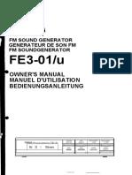 Yamaha FB-01 Manual GG