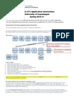 Sample ST1 Application Instructions Spring1617