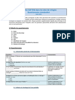 2a - Questionnaire Standard CAP EHA