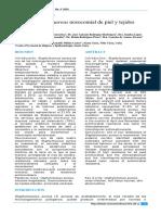 Staphylococcus aureus nosocomial de piel y tejidos blandos