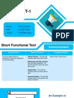 E1D017032 Dita Pratiwi Project 1 Teaching Media