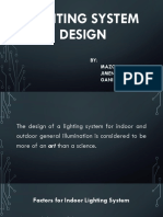 8 - Lighting System Design
