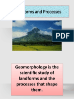 Landforms and Processes