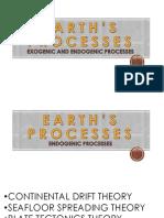 Earth's Processes