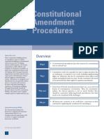 Constitutional amendment procedure