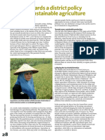 Towards Sustainable Agriculture in Indonesia