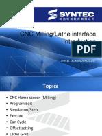 CNC Interface Preparation Before Machining