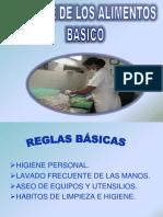 Higiene de Alimentos- Capacitacion Extra