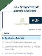Evoluciòn y perspectivas de la economìa mexicana