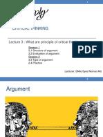 3 Argument