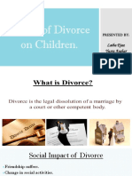 Affects of Divorce on Children 1[2413]