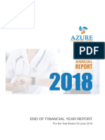2018 Azure Healthcare Limited Annual Report FINAL