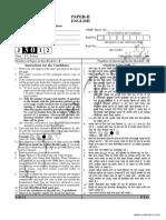 CBSE UGC NET English Paper 3 June 2012