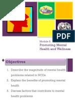 Module 6 Promoting Mental Health