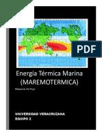 Energia Termica Marina