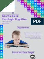 Aporte de La Psicología Cognitiva