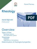 Lec. 7 Rheology