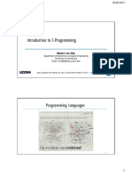 MtE316 Week2 Sep 30 Introduction to C Programming F19