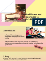 Physical Fitness and Its Importance to People's Lives