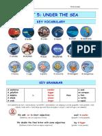 Key Vocabulary Grammar Unit5