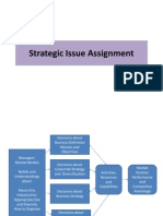 Strategic Issue and External Analysis
