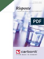 Filtro acqua Carbonit